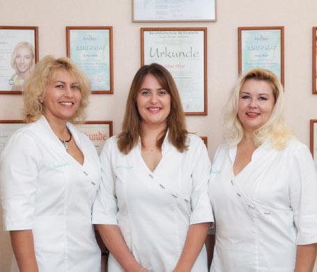 Das Team der Kosmetik Lounge in Offenburg