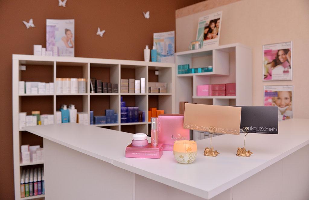 Verkauf unserer Kosmetikprodukte