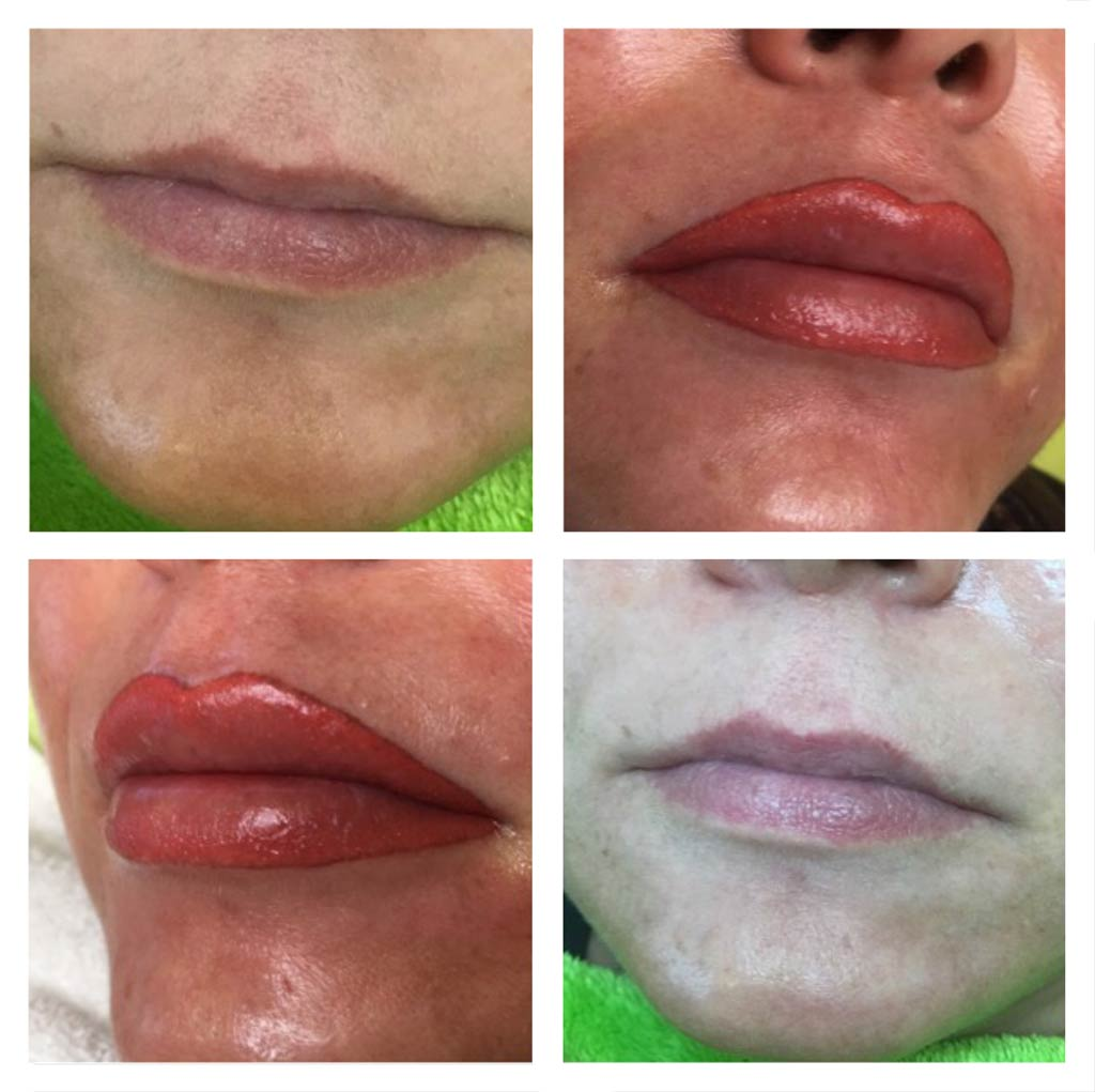 Permanent Make-up Lippen in Offenburg